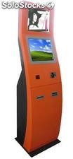 Duanl monitors self-service touch kiosk