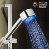 Ducha con Luz Eco Led Shower Forma Redonda