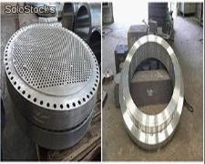 duplex stainless nickel alloy monel inconel incoloy hastelloy nimonic steel ring