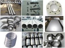 duplex stainless steel flange round bar wire rod fasteners tube pipe fittings