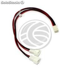 Duplicator Cable 3pin Fan Power to PCB 1 Female to 2 Male 15cm (CA39)