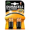 Duracell Pila alcalina Gama Duracell Plus LR03 1,5 v. 4 unid. 9150...