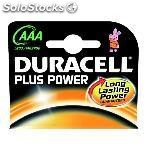 Duracell pilas alcalinas plus power pack 4 ud AAA LR03 plus power 75038387