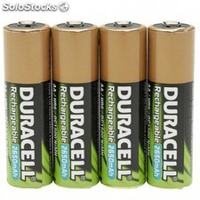 Duracell - StayCharged AAA 4 Pack Níquel-metal hidruro (NiMH) 800mAh 1.2V