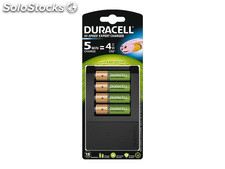 Duracell Universal Charger CEF15, incl. 4x AA