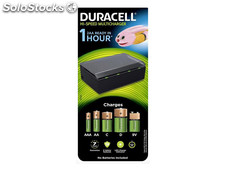 Duracell Universal Charger CEF22 for AA/AAA/c/d/9V Batteries