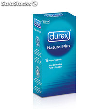 Durex natural plus 12 uds - durex - 5038483867594 - 6003090100