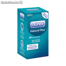 Durex natural plus 24 uds - durex - 5038483867624 - 6003100100