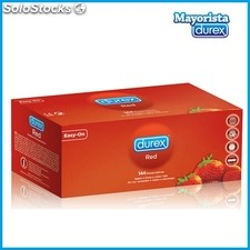 Durex Strawberry - Red 144 Preservativi