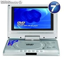 Dvd player portátil com tela Lcd 7""