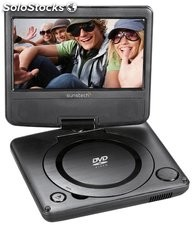 "DVD portátil 7"" DLPM728BK (Reacondicionado)"