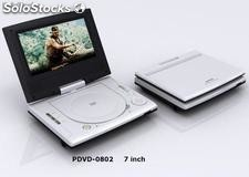 Dvd Portatil 7 pugadas,TV USB SD juegos 300