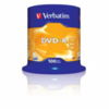 Dvd-r verbatim advanced azo 16x 4.7gb tarrina 100 unidades
