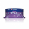 Dvd+r verbatim advanced azo 16x 4.7gb tarrina 25 unidades