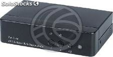 DVI and digital audio switch 2 ports DS02D (SH83)