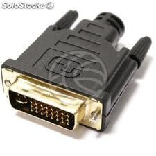 DVI-I Male for cable assembly with solder (CM19)