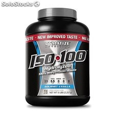 Dymatize ISO 100 Post Workout and Recovery Gourmet Vanilla, 5lbs