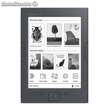 "e-Book energy sistem eReader Slim hd 128MB 8GB 6"" negro"