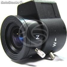 E varifocal lens 3.5 mm and 8.0 mm F1 4 (VX12)