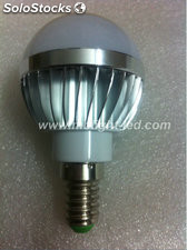 E14 bombilla LED 3W foco lampara LED E27 blanco calido/frio