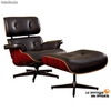 Eames Lounge Chair and Ottoman blanco o negro - Foto 2