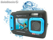 Easypix AQUAPIX W1400 Active Underwater camera (Iceblue)