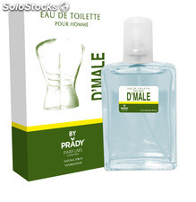 Eau de toilett d'male