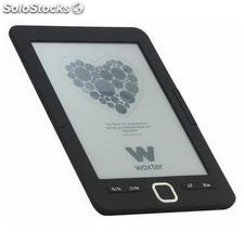 "eBook Woxter scriba 195 6"" 4 GB Negro"