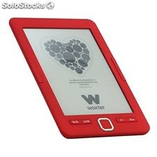 "eBook Woxter scriba 195 6"" 4 GB Rojo"