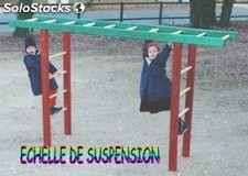 Échelle de suspension
