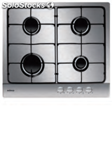 Edesa urban-I4GSXA placa gas natural inox 4 fuegos