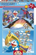 Educa Borras - 2x100 Doraemon