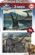 Educa Borras - 2x100 Jurassic World