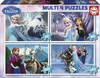 Educa Borras - Multi 4 Puzzles Frozen 50-80-100-150