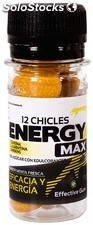 Effective Gum Energy Max 12 chicles