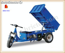 Electric Auto Brick Unloading Cart with design and build hoffman kiln