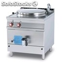 Electric boiling pan - mod. pi100/98et - indirect heating - capacity lt 100 -