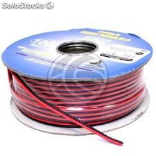 Electric cable and stereo speakers 2x0.50mm coil 100m (VH51)