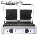 Electric cast iron plate-mod. er 2-double plate-cooker cm 50x28-2 x 2.2