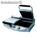 Electric ceramic plate unox-mod. spidocook xp020p-smooth black double plate-# 2