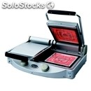 Electric ceramic plate unox-mod. spidocook xp020pt-double plate smooth