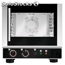 Electric convection oven with indirect humidification-code ekf412alu-for