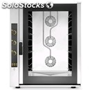 Electric convection steam oven - cod. ekf1064ud - for bakeries and patisseries -
