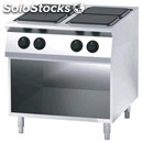 Electric cooker, 4 plates - open cupboard - mod. fn94qdf - power kw 16 - three