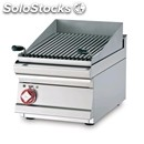Electric countertop chargrill - mod. cwt/64et - stainless steel grate - three