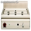 Electric countertop pasta cooker - mod. cp/6et - n. 1 tank lt 25 - three phase -