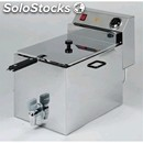 Electric fryer - mod. sf/9 - tank capacity 9 lt - single phase - ec standards