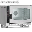 Electric gastronomy and pastry convection oven - mod. mpe5 - programmable