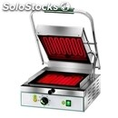 Electric glass-ceramic grill - mod pv 27ll - single smooth grill - cooking