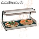 Electric glass-ceramic hot plate with infrared lamp - mod. hottypizza -